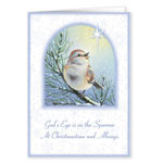 Religious - God's Sparrow Christmas Card Set of 20