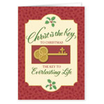 Religious - The Key to Christmas Card Set of 20