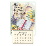 Calendars - Psalm 118:24 Mini Magnetic Calendar