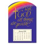 Calendars - Mini Magnetic Calendar With God