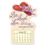 Calendars - Red Hat Mini Magnetic Calendar