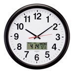 Closeout Deals - 3-in-1 Giant Wall Clock