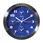 Kincaid 4 Time Zone Wall Clock