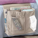 White Sale - Bedside Organizer Caddy