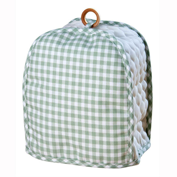 Gingham Can Opener Cover