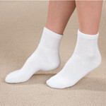Footwear & Hosiery - Diabetic Ankle Socks - 3 Pairs