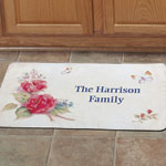 "Personalized Roses Mat 18"" x 30"""