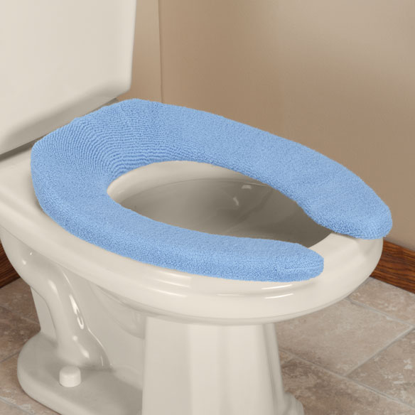 Toilet Seat Cover with Front Opening
