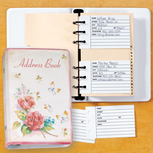 Roses Address Book