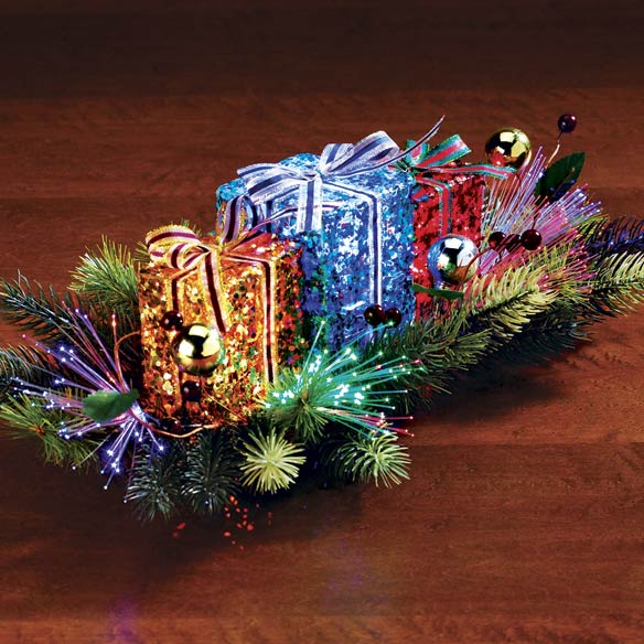 Fiber Optic Gift Centerpiece