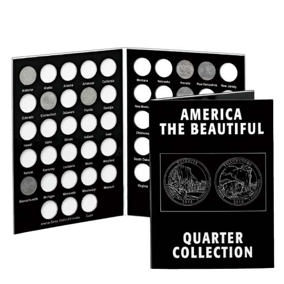 America The Beautiful Quarter Collection Album