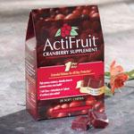 Supplements & Creams - ActiFruit™ Cranberry Supplement Chews - 20 Count