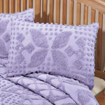 White Sale - Jacqueline Chenille Sham by East Wing Comforts