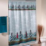 Bath Accessories - Lighthouse Shower Curtain
