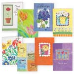 Memos, Notepads & Cards - Thank You and Blank Note Cards Value Pack of 24