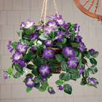 Artificial Petunia Hanging Bush