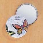 Stocking Stuffers - Butterfly Compact Mirror