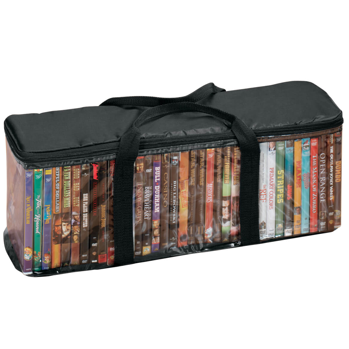 DVD Storage Case with 2 Dividers-341442