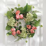 Decorations & Accents - Tulip and Hydrangea Wreath
