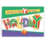 Christmas Cards - Jesus is the Y Christmas Card Set of 20
