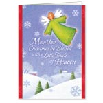 Sale - Angel Friend Magnet Christmas Card Set of 20