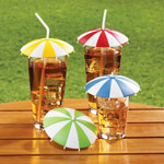 Umbrella Drink Covers, Set of 4