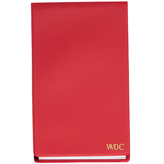 Red Personalized Jotter Pad