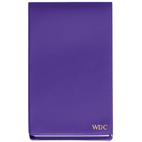 Personalized Jotter Pad Purple