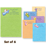 Memos, Notepads & Cards - Angel Memo Pads