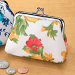 Health, Beauty & Apparel - Spring Bouquet Coin Purse