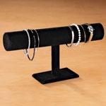 Gifts for All - Black Velour Bracelet Display