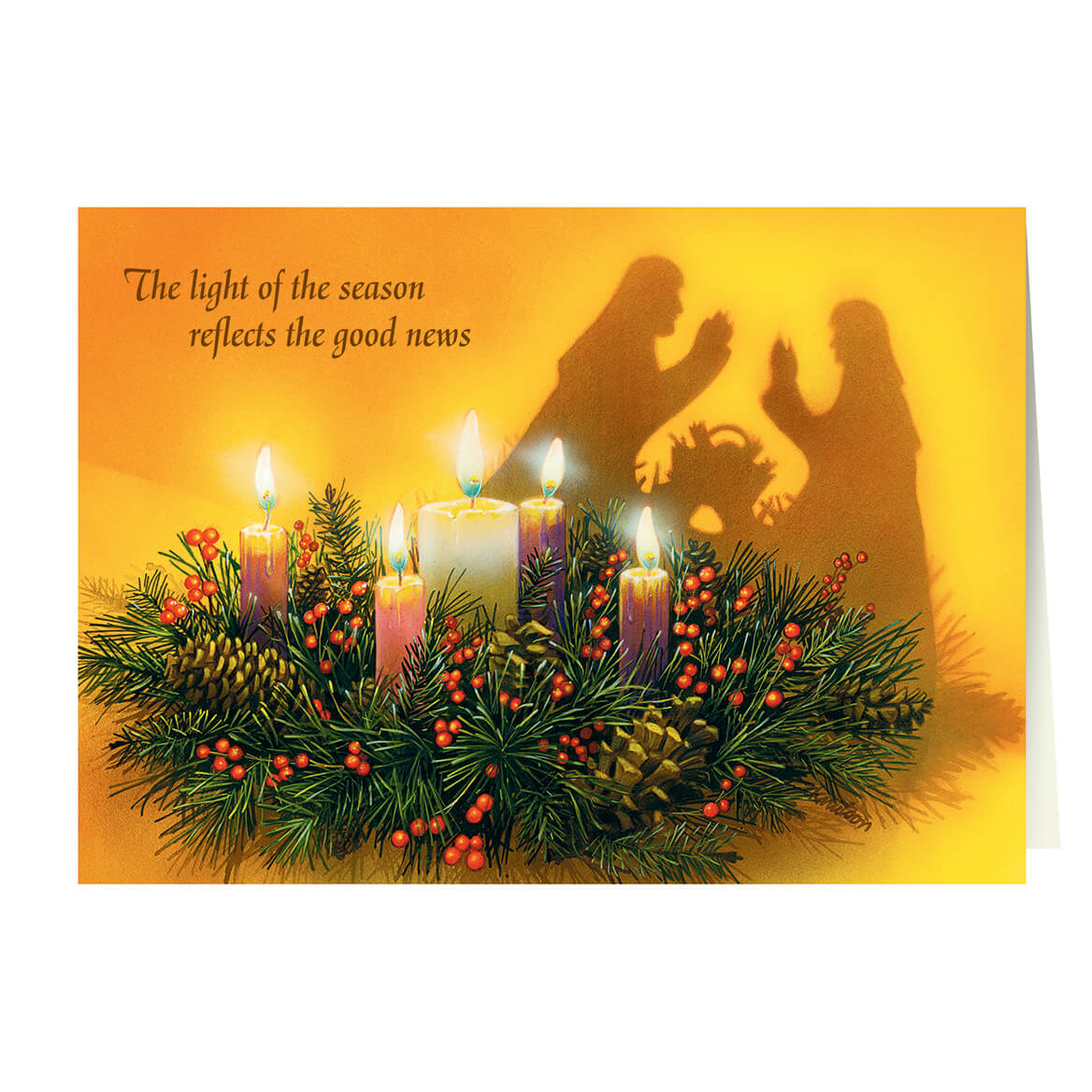Personalized Reflections of Christmas Card Set of