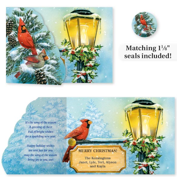 Cardinal Signpost Card Set of 20
