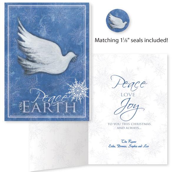 Peace on Earth Christmas Card, Set of 20 - WDrake