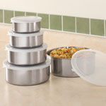 Kitchen - Stainless Steel Bowls - Set Of 5