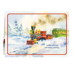 Secular - Old Time Train Station Card Set Of 20