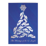 Religious - Blessing of the 12 Angels Christmas Card Set of 20