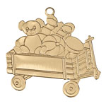 Decorations & Storage - Wagon Ornament