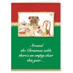 Religious - Memorial Greeting Christmas Card Set of 20