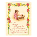 Labels & Stationery - Poinsettia Legend Christmas Card - Set Of 20