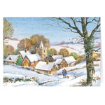 Christmas Cards - Peaceful Village Christmas Card - Set Of 20