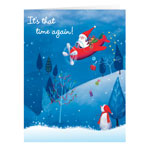 Christmas Cards - Santa's Flight Christmas Card - Set Of 20