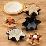Gadgets & Utensils - Nonstick Taco Fluted Dishes - Set Of 4