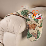 Health, Beauty & Apparel - Butterfly Tapestry Sewing Caddy Set