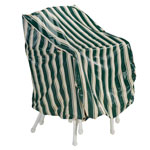 Deluxe High Back Chair Cover, Multicolor