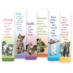 Memos, Notepads & Cards - Cat Bookmarks - Set Of 12