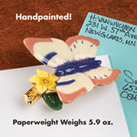 Labels & Stationery - Butterfly Paperweight