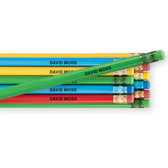 Personalized Pencils - Set Of 12