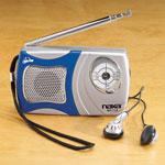 Home Entertainment - AM/FM Pocket Radio With Speaker