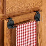 Closeout Deals - Apple Over The Cabinet Towel Bar